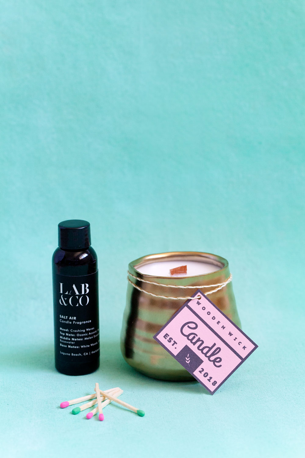 Learn how to make these amazing DIY luxury candles with this amazing company Lab & co.