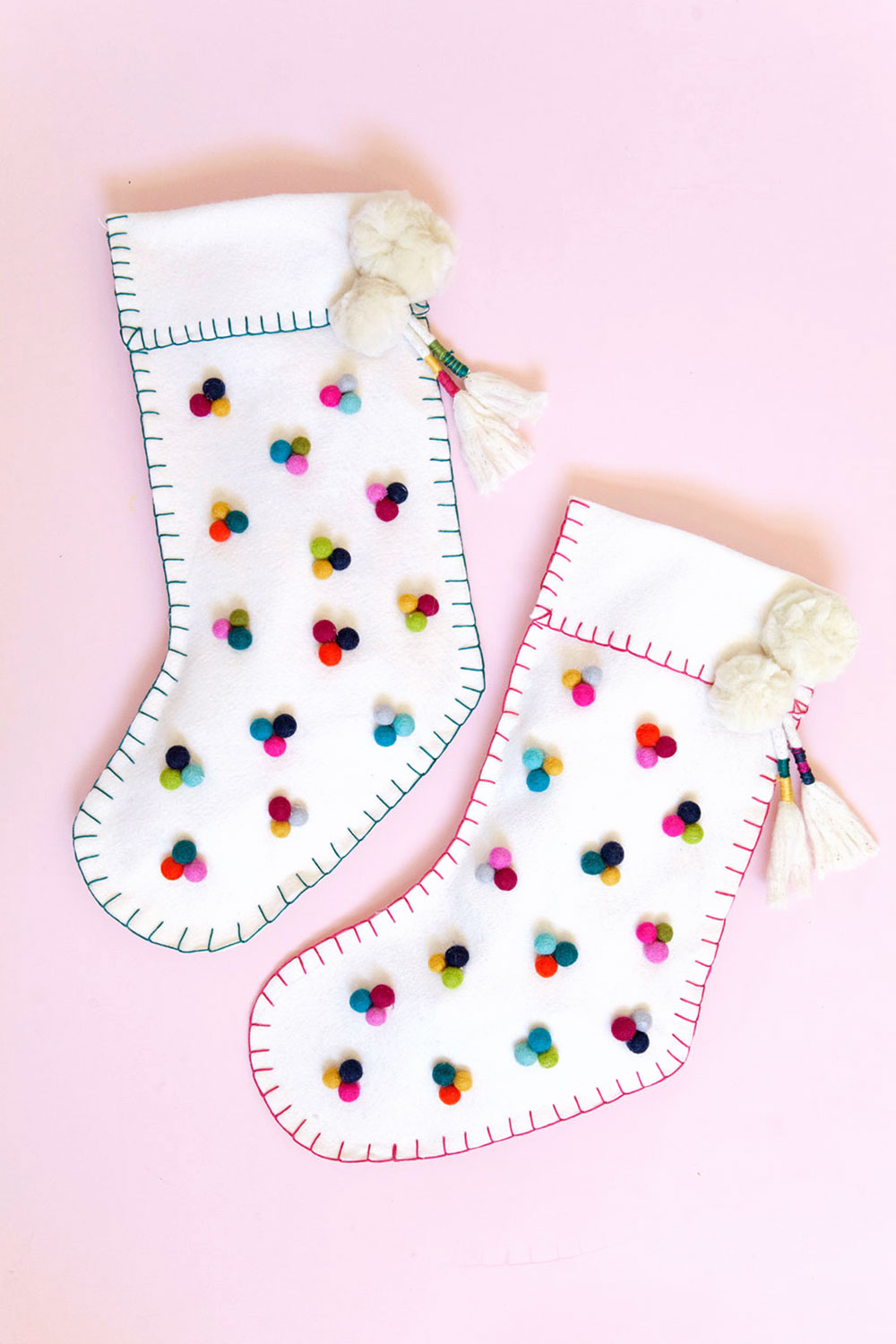 DIY CHRISTMAS STOCKING - Tell Love and Party