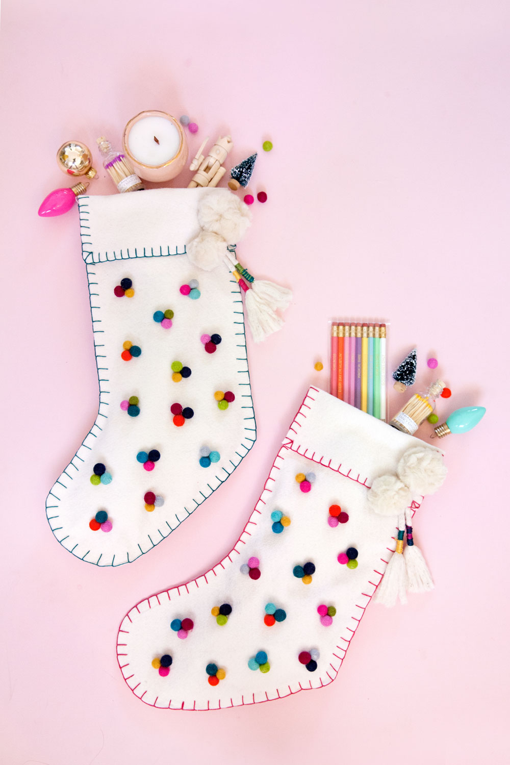 Diy Christmas Stocking Tell Love And Party