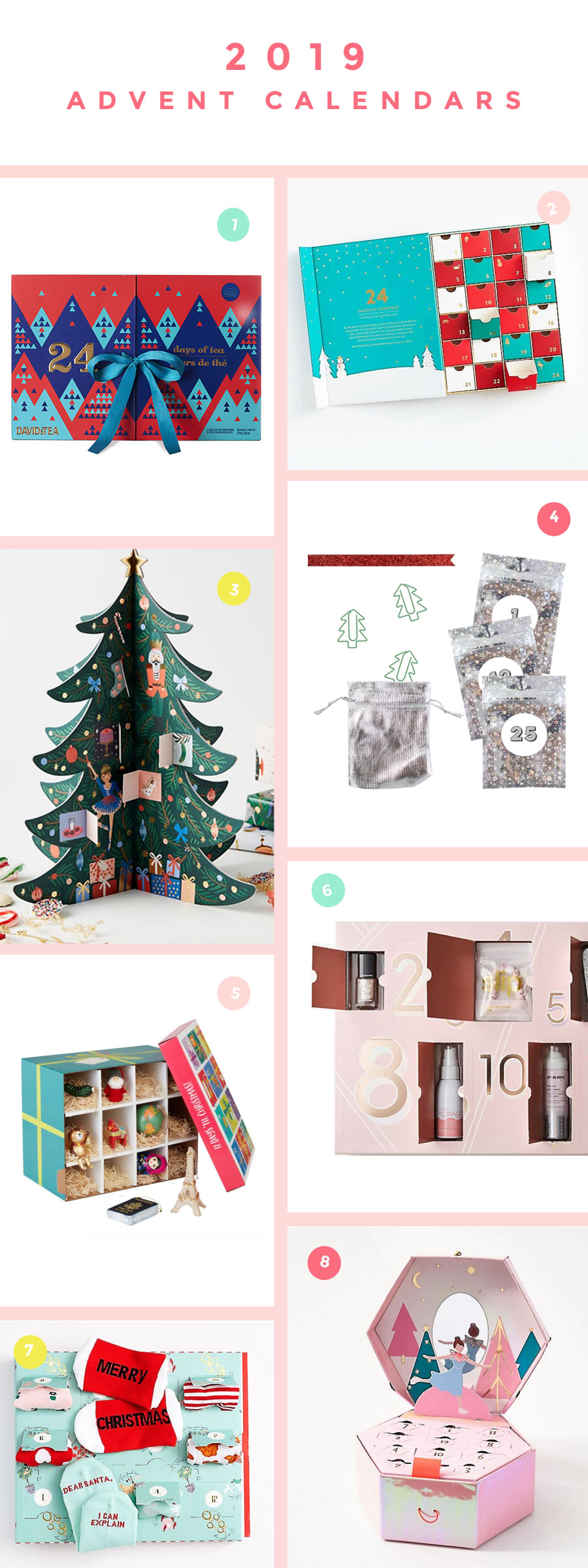 Fun and clever advent calendars this year that are sure to make someone smile